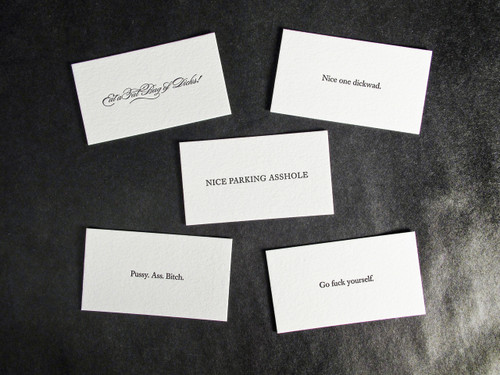 Insult Cards