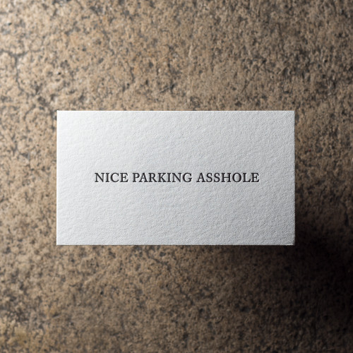 Nice Parking Card Set - 25