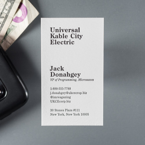 The Business Card