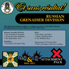 Russian Grenadier Division (Mid-Late War) Attachment Pack