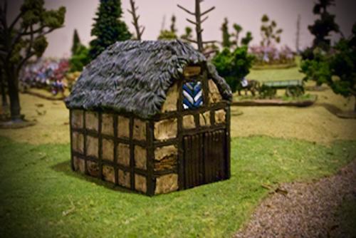 Timbered Large Barn