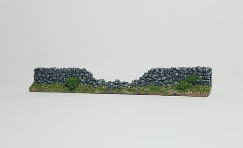 Stone Wall Breached Sections (4-pack)