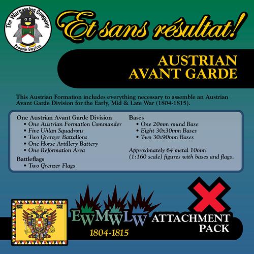 Austrian Avant Garde (Early-Mid-Late War) Attachment Pack
