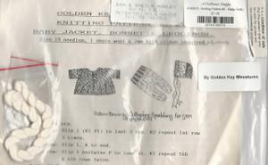 4190070 - Knitting Pattern #2 - Baby Jacket, Bonnet and Leggings