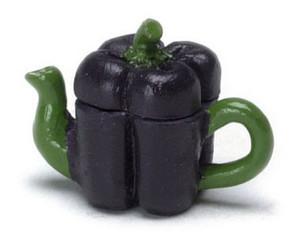 FCA187 - Purple Bell Pepper Teapot - N4187
