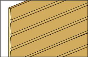"NE389 - Cle-16 - 1/2"" Beaded Clapboard Siding"