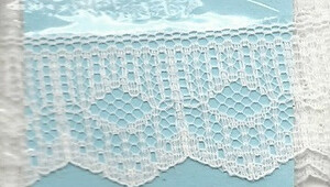 4190004- Lace: White