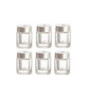FA2SSBJWL - Small Baby Jar with Stainless Steel Lid - Pkg/6