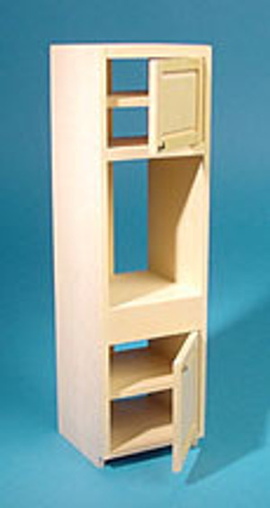 HW13410 - Kitchen Cabinet Kit - Wall Oven Cabinet - Unfinished