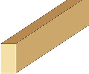 """NE289 - Stripwood - 1/2"""" x 1/4"""" x 24"""" L"""
