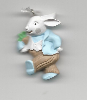 Dollhouse Miniature - G3408 - Rabbit - Flat Decoration