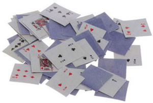 Dollhouse Miniature - IM65253 - Playing Cards Set