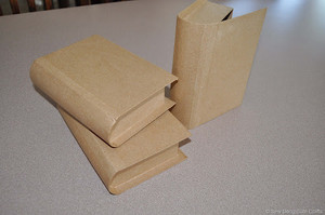 "15530 - Book - Display - Cardboard - 9"" H x 6"" W x 2.5"" D closed"