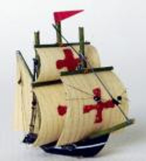 "RA0308 - Spanish Galleon 1-1/2"" Ship"