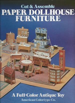 0-486-24150-5  Cut & Assemble Paper Dollhouse Furniture (was 24150-5)