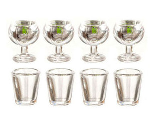 "G2762 - Tableware Set - 1/2"" Scale - 8 pc."