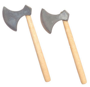 Dollhouse Miniature - FCA2945 - Axes - Pkg/2