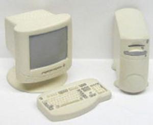 Dollhouse Miniature - RA0158 - 4 PC COMPUTER SET