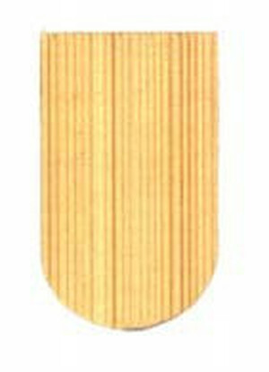 AS52 - Economy Cedar Shingles - Fishscale - 1000 PK - 5 sq ft