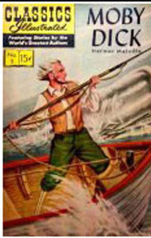 Dollhouse Miniature - TIN2006 - Moby Dick Mini Book - 1950's Edition
