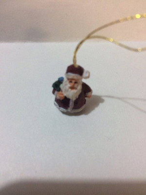 15460-1 - Santa Christmas Ornament - Country Charm