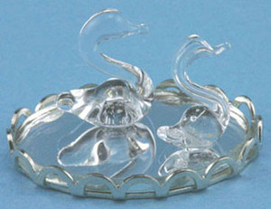 CB/097 - **DISCONTINUED** - Chrysnbon - Pair of Glass Swans