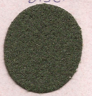 "Dollhouse Miniature - **Discontinued** FF5984 - Carpet:  Dark Green - 14"" x 18"""