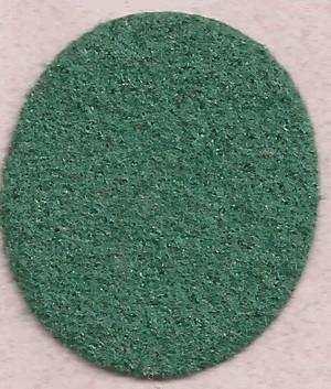 "Dollhouse Miniature - **Discontinued** - FF5977 - Carpet: Dark Green - 14"" x18"""