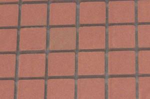 MH5415 - Genuine Square Patio Bricks on mesh