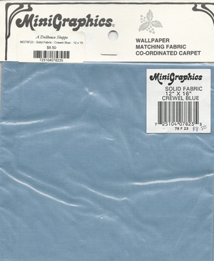 MGF23 - Crewel Blue Fabric