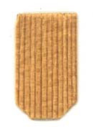 9253012-2 - SHINGLES: CEDAR - HEX - 500 PC