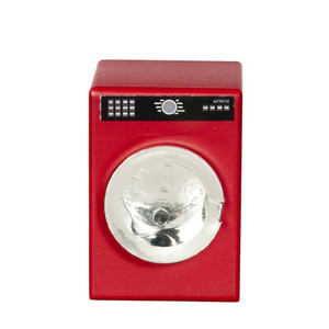 Dollhouse Miniature - T5459 - CLOTHES DRYER - RED