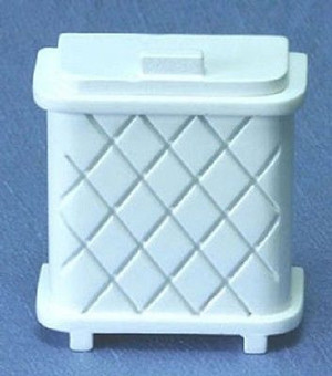 CLA10667 - Laundry Hamper - White