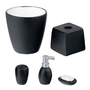 HW4056 - Black Bath Accessory Set