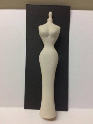 Dollhouse Miniature – Mannequin - Porcelain Doll - White