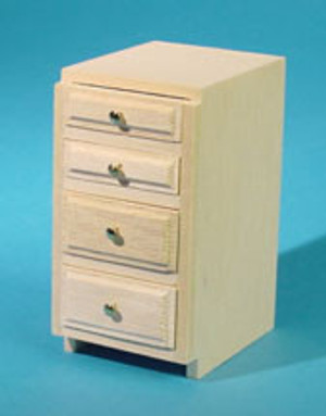 "HW13404 - Kitchen Cabinet Kit - 1.5"" Base - Drawers - Unfinished"