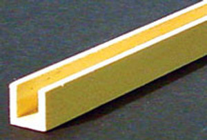 "HW7067 - CHANNEL MOLDING - 3/8"" x 3/8"" x 24""L"
