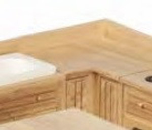 **DISCONTINUED** - T4121 - KITCHEN CABINET - Lower - Corner - OAK