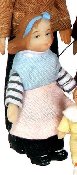 "Dollhouse Miniature - SD0047 - 1:24 (1/2"", Half Inch, 1/2in) Scale MODERN SISTER"