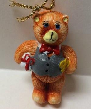 Dollhouse Miniature -YM0128-1 - Christmas Bear