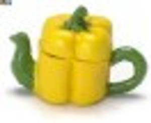 FCA176 - Yellow Pepper Teapot - N4176