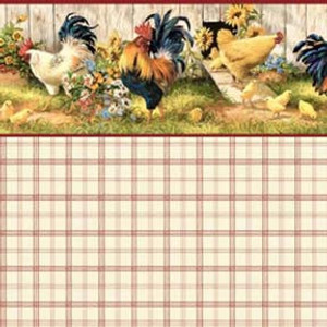 451B - WP - Hen House - Red Plaid