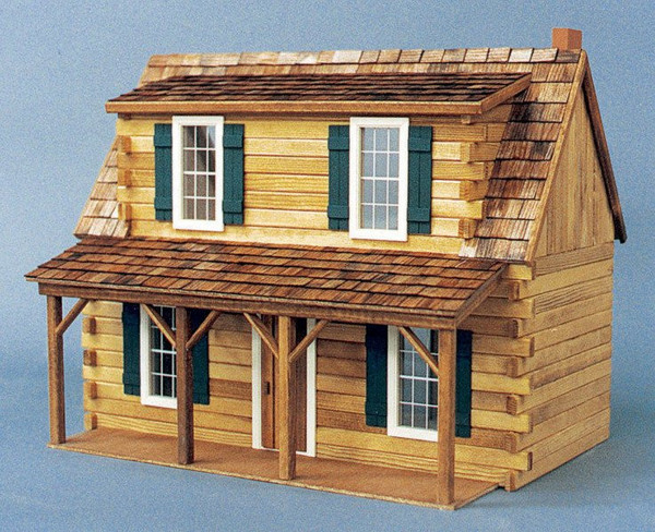 Real Good Toys Adirondack Cabin Front