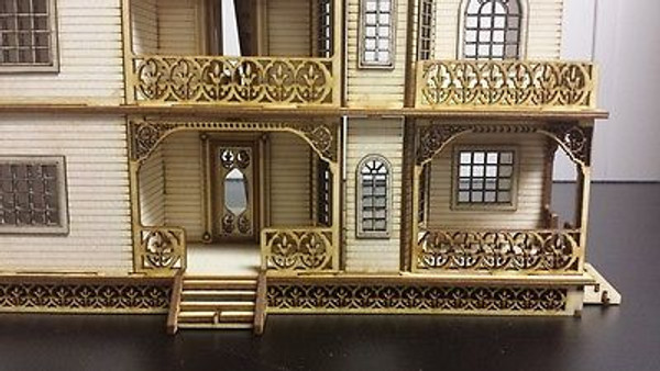 "Jasmine 1/2"" Scale Porches"