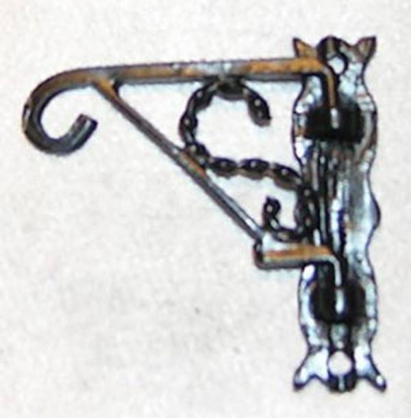 Dollhouse Miniature - ISL24741 - Plant Hanger - Swivel - Black