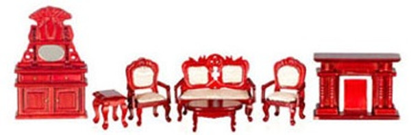"""T0252 - 1/2"""" Scale Living Room Set - 7 Pc"""