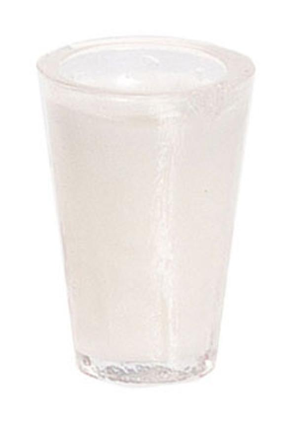Dollhouse Miniature -FA60001 - Glass of Milk - Pkg/2
