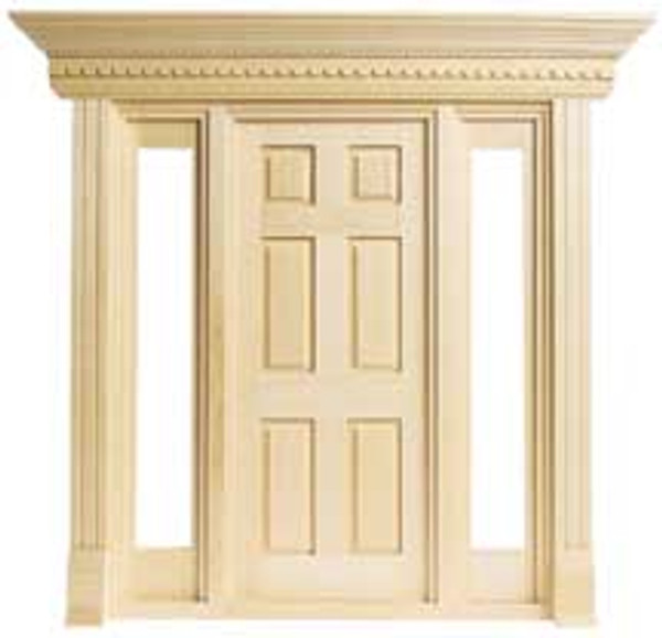 HW6010 - Jamestown 6 Panel Door with Sidelights