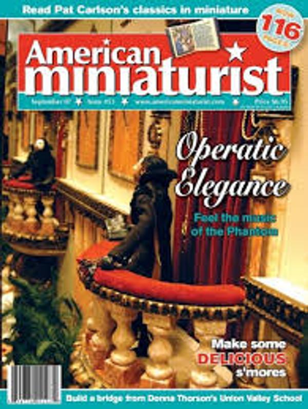 American Miniaturist Magazine - September 2007 - Issue 53