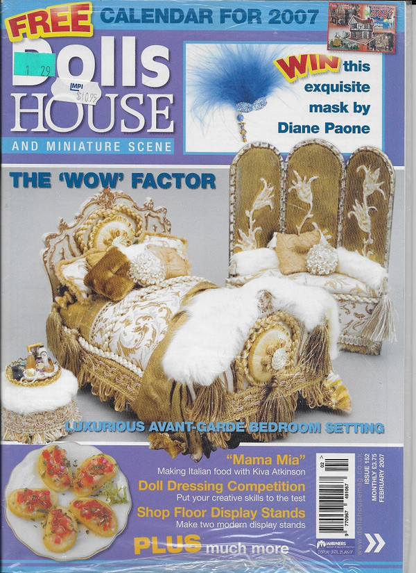 Dollshouse and Miniature SceneMagazine - February 2007 - Issue 152